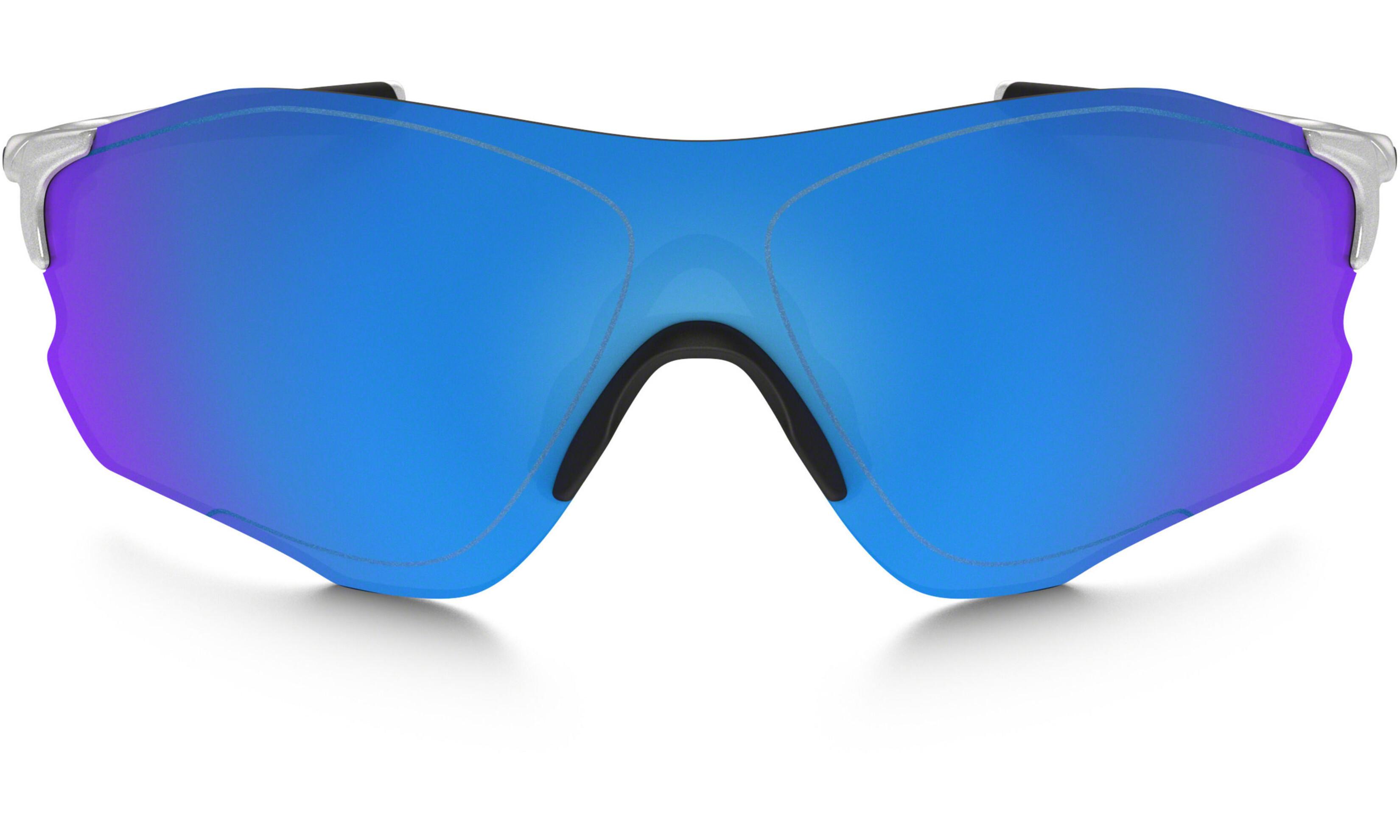 609a44a1881753 Oakley Evzero Path - Lunettes cyclisme - bleu argent - Boutique de ...